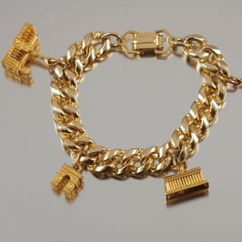 Paris France Charm Bracelet