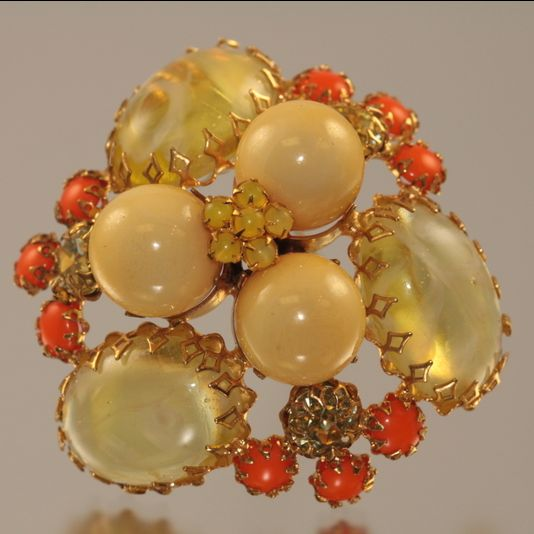 Schreiner Of New York Brooch